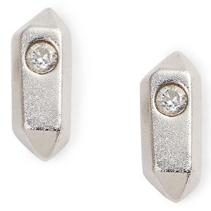 Kendra Scott Rooney Rhodium Plated Brass Earrings